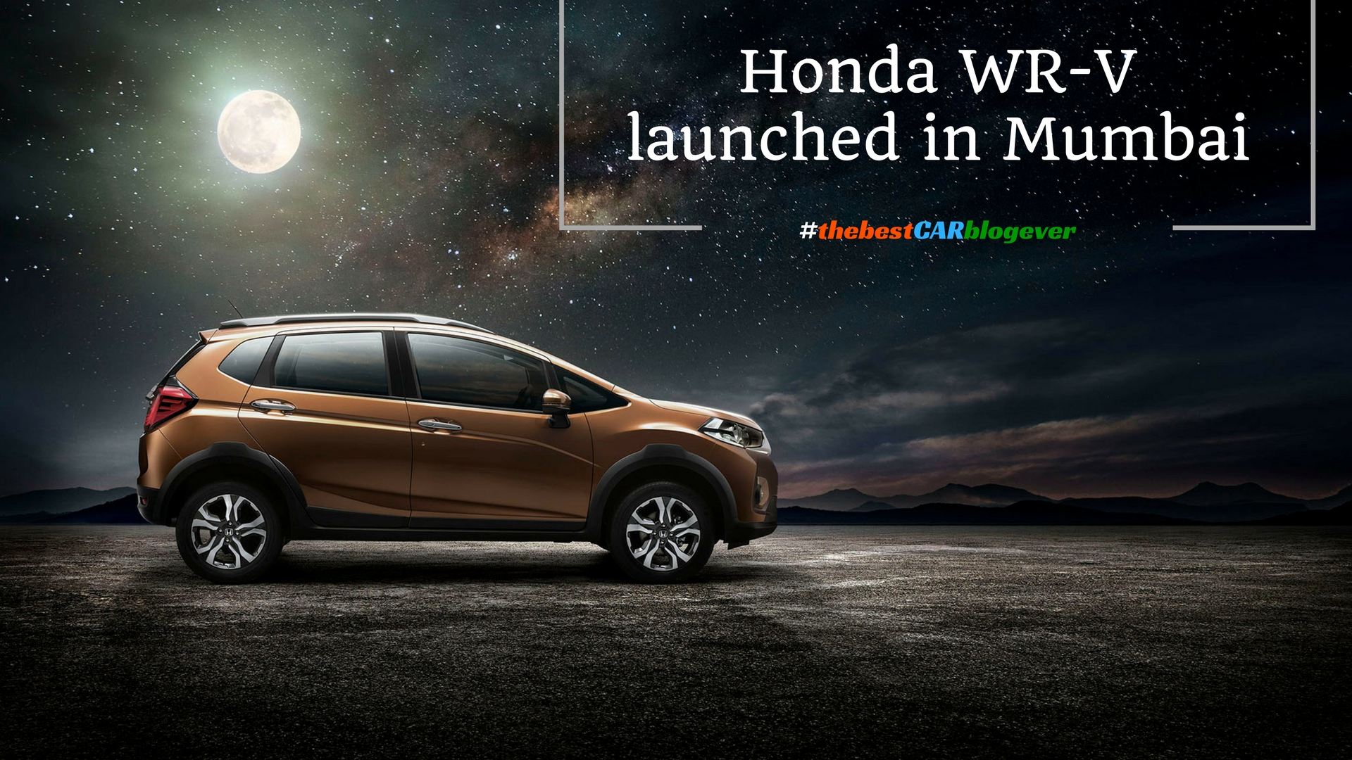 Honda WR-V launched in Mumbai